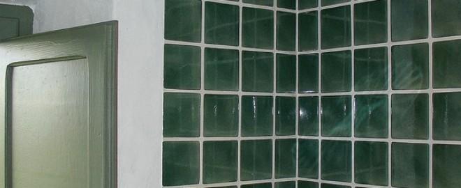 Detall rajola de 10x10 de La Bisbal