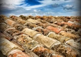 Detall teulada amb teula de recuperació, Jordi Alsina