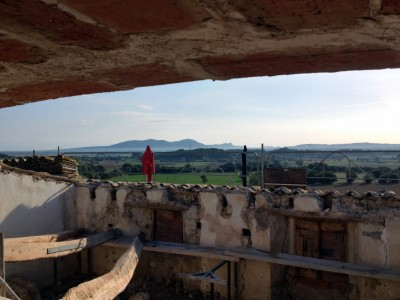 Canvi coberta en masia de l'Empordà
